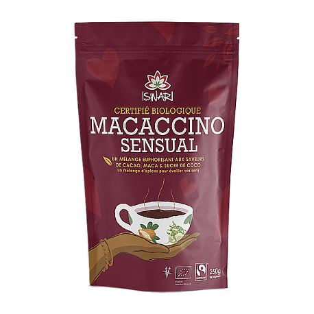 Macaccino sensual 250g