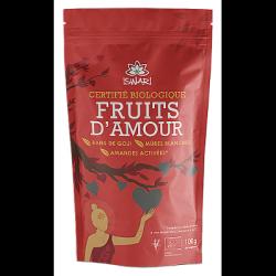 Fruits d'amour - amandes, baies de goji, mûres blanches 100g