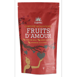 Fruits d'amour - amandes, baies de goji, mûres blanches 100g
