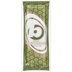 Nouilles riz brun & wakame 250g