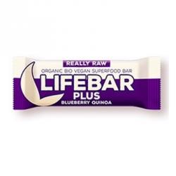 Lifebar + quinoa myrtille 47g
