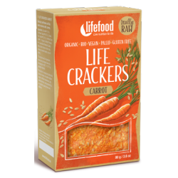 Crackers carottes 80g