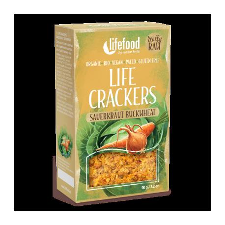 Crackers crus choucroute sarrasin 90g
