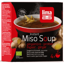 Instant miso soup gingembre 60g