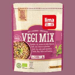 Vegi mix épeautre, riz, avoine et petits légumes 25