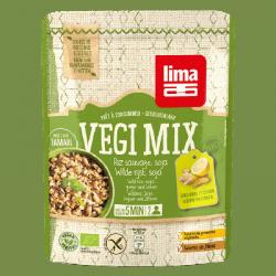 Vegi mix gingembre, riz sauvage et soja 250g