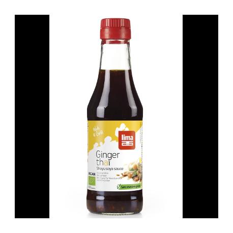 Sauce shoyu ginger thai 250ml