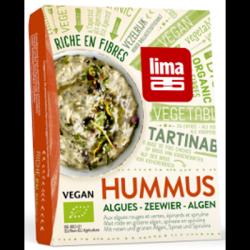 Tartinables hummus algues 140g