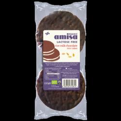 Galettes de riz chocolat nature 100g