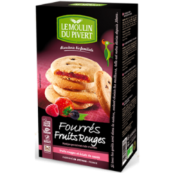 Fourrés fruits rouges 175g