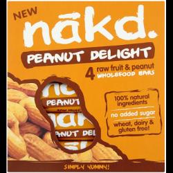 4 barres Peanut delight multipack 35g