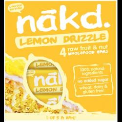 4 barres lemon drizzle multipack 35g