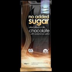 Chocolat au lait sans sucre ajouté 100g