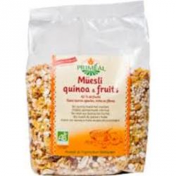 Muesli quinoa fruits 350g