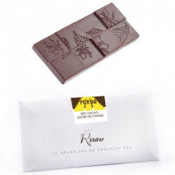 Tablette chocolat cru pérou 45g