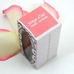 Songe d'été - Cubes choco rose & sésame 55g