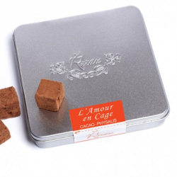 L'amour en cage - cubes choco cacao physalis 100g