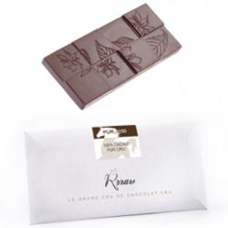 Tablette chocolat cru 100% 45g
