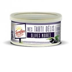 Tarti delis olives noires 125g