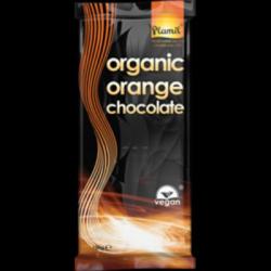 Chocolat noir à l'orange 80g