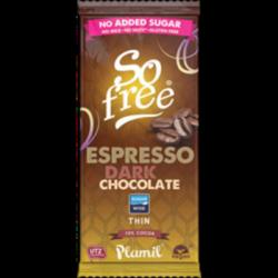 Chocolat noir espresso sans sucre ajouté 80g