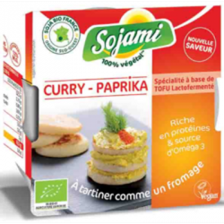 Sojami curry paprika à tartiner 125g