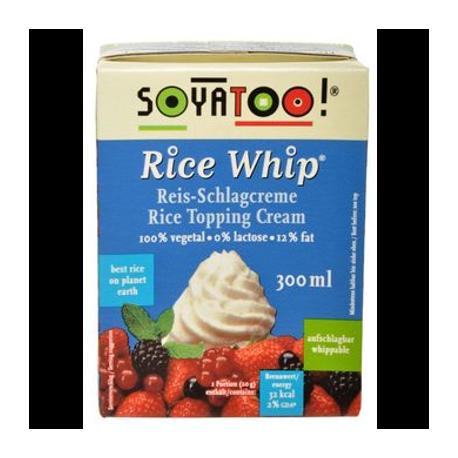 Préparation à fouetter au riz 300ml