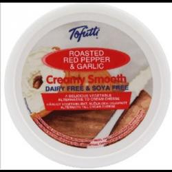 Tofutti ail et piment rouge à tartiner 225g
