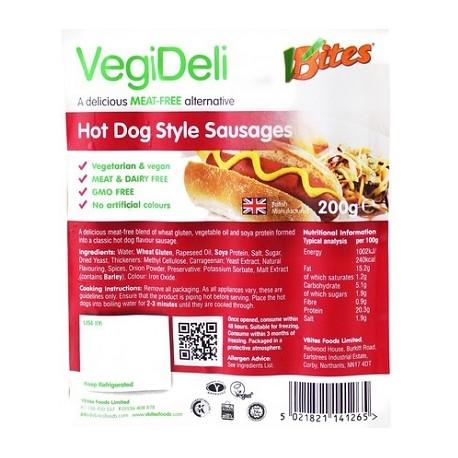 Hot dog végétaux 200g