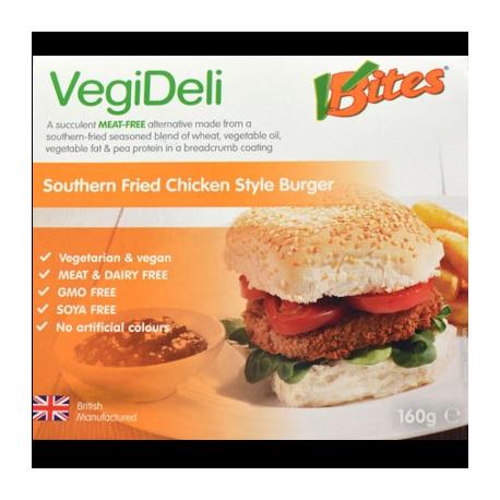 Burgers végétaux façon poulet frit 160g