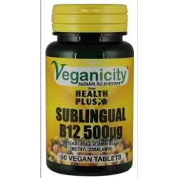 Vitamine B12 500µg (Methylcobalamine)
