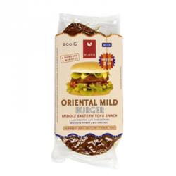 Burgers végétaux oriental mild 200g