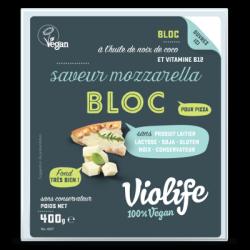 Violife mozzarella pour pizza en bloc 400g