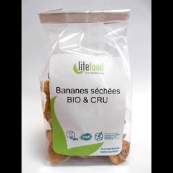 Bananes séchées crues 100g