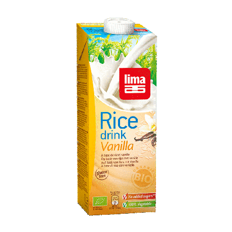 Boisson de riz vanille 1l