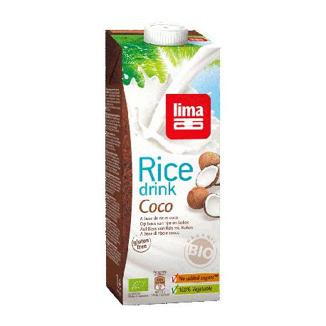 Boisson de riz et coco 1l
