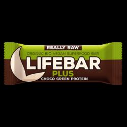 Lifebar chocolat protéine verte 47g