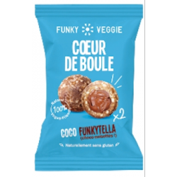 Cœur de boule coco funkytella 44g