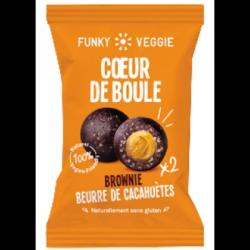 Cœur de boule brownie beurre de cacahuètes 44g
