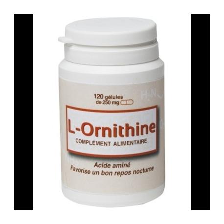L-ornithine 120 gélules