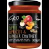 Chutney de pomme, abricot et gingembre 300g