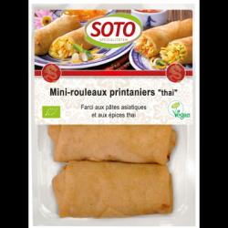 Mini rouleaux printaniers thai 200g
