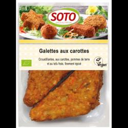 Galettes aux carottes 195g