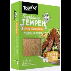 Tranches végétales de tempeh au sirop d'érable 198