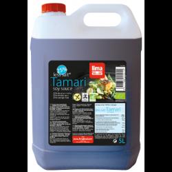 Sauce tamari 25% de sel en moins 5l