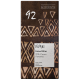 Chocolat noir 92% au sucre de coco 80g