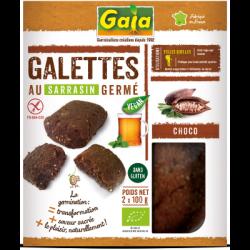 Galettes au sarrasin germé chocolat 200g