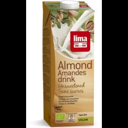 Lait d'amandes sans sucres 1L - Lima