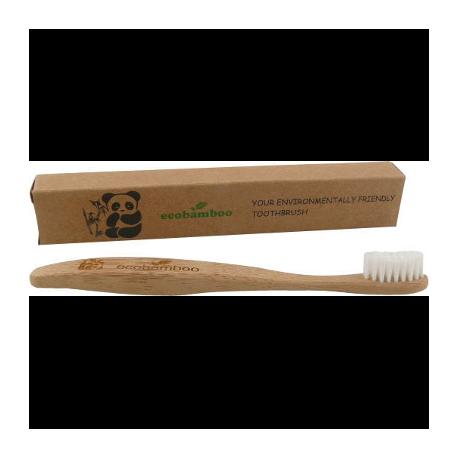 Brosse à dents enfant soft - Ecobamboo