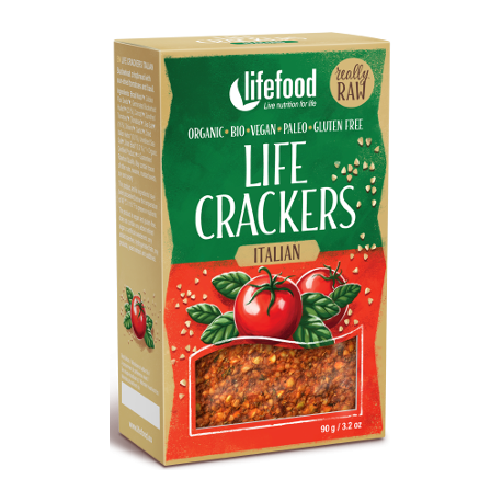 Crackers à l'italienne 90g - Lifefood